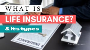 What is life Insurance and its types